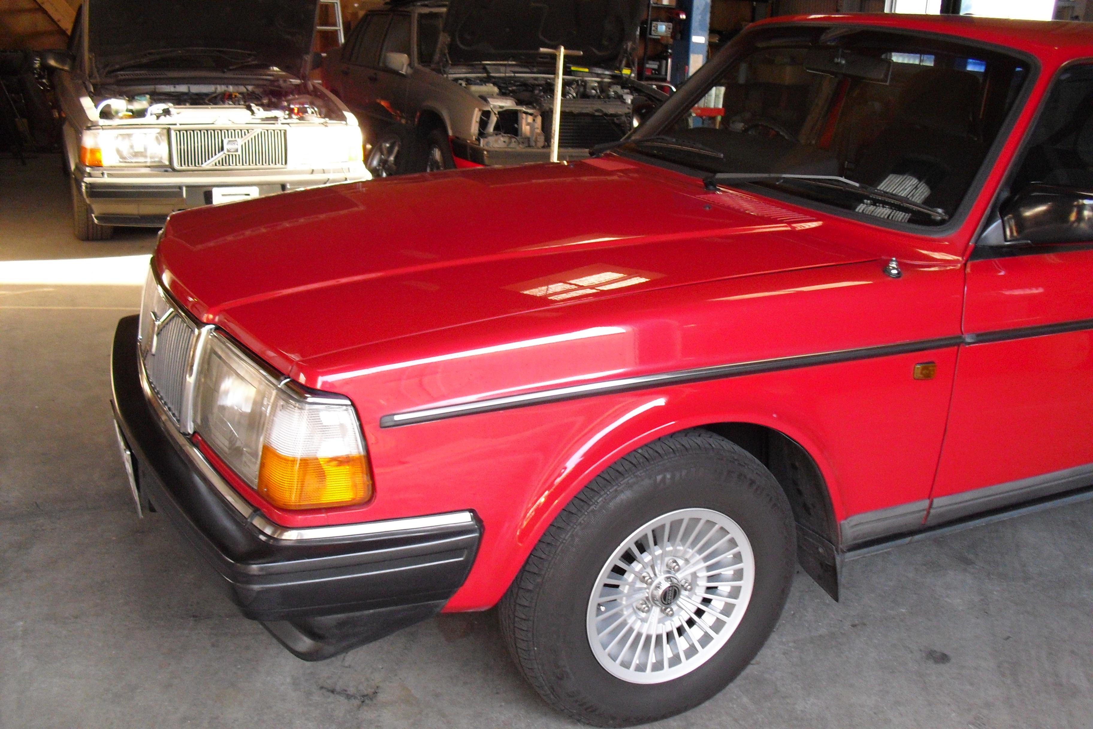 92年モデル 240ワゴン ナンバー灯 不灯修理